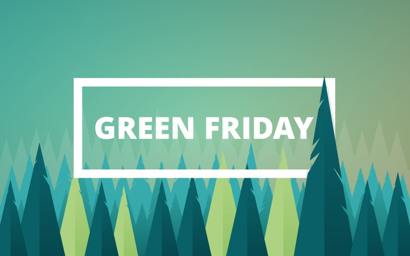 Black Friday is going Green