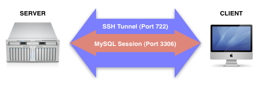 How to connect to a MySQL database using an SSH Tunnel