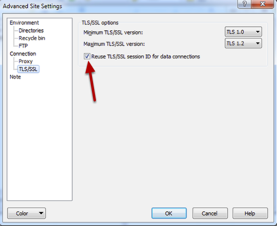 How to upload files using WinSCP with FTPS and SFTP