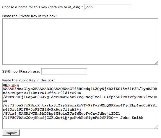 ssh private key mac terminal